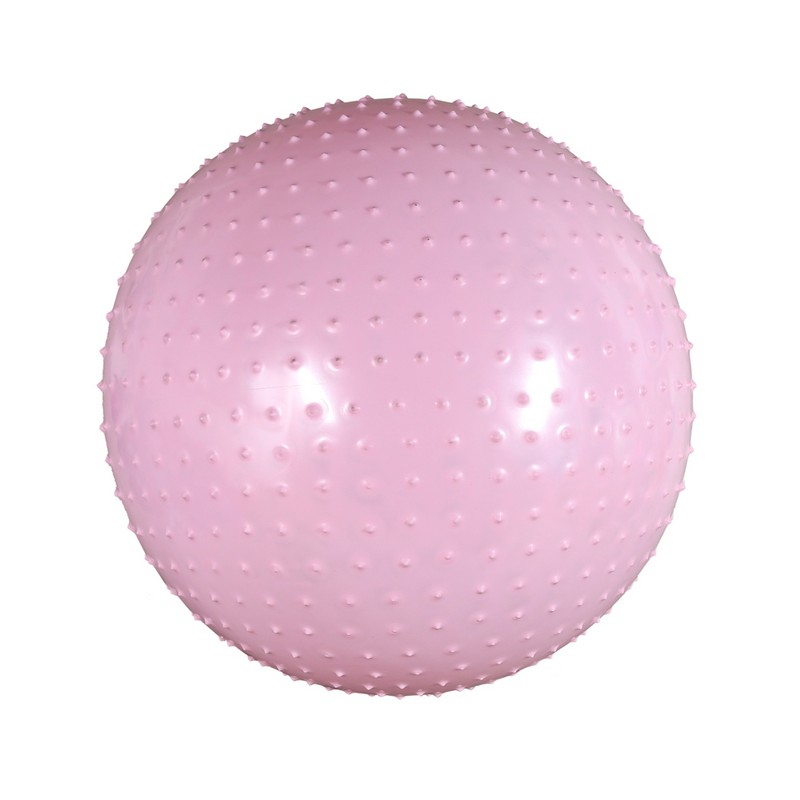 Мяч массажный Body Form BF-MB01 D=55 см. розовый