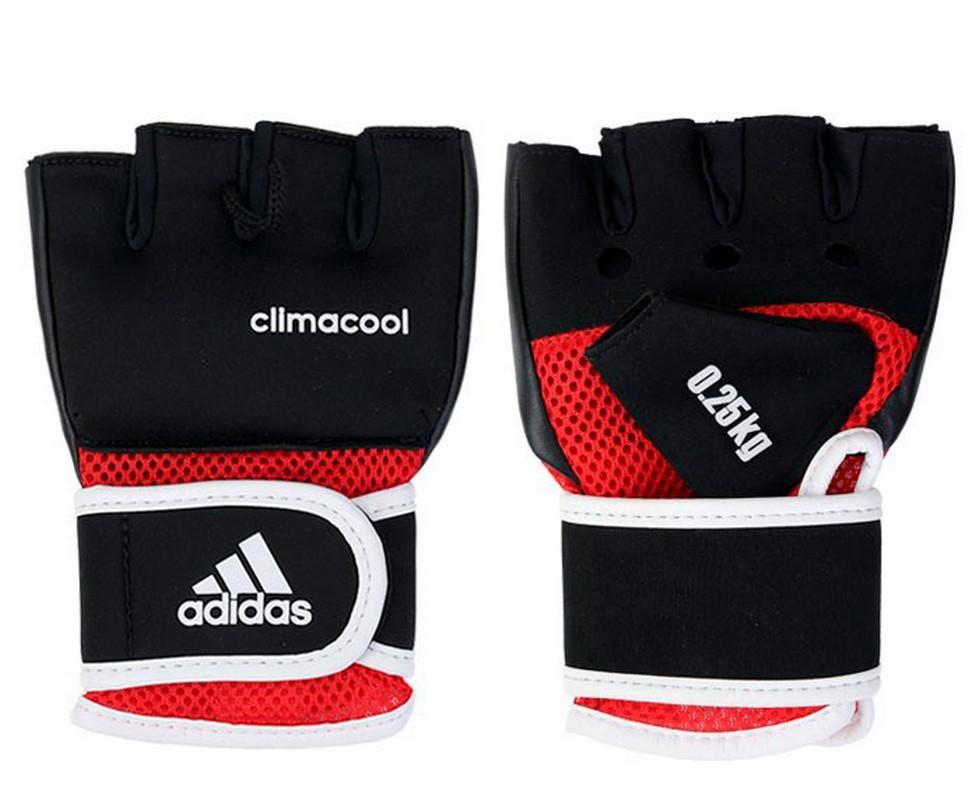 Перчатки с утяжелителями Adidas 0,25 кг Cross Country Glove черные adiBW01 adidas predator junior gk glove