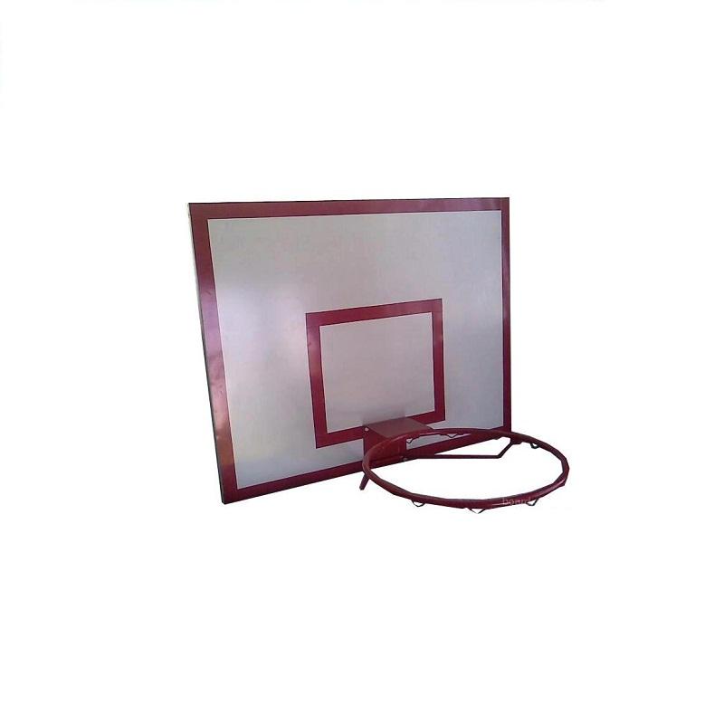 Купить Щит баскетбольный фанера 12 мм, трен. БЕЗ основания, 120x90см Ellada М185,