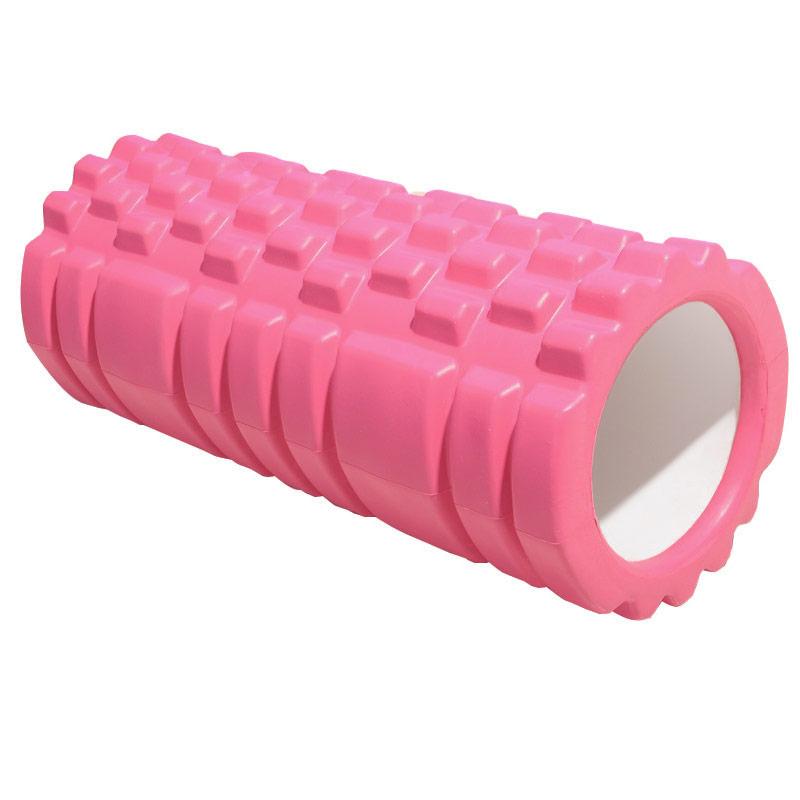 Купить Ролик для йоги Sportex 33х13,5см ЭВААБС E29389 розовый,