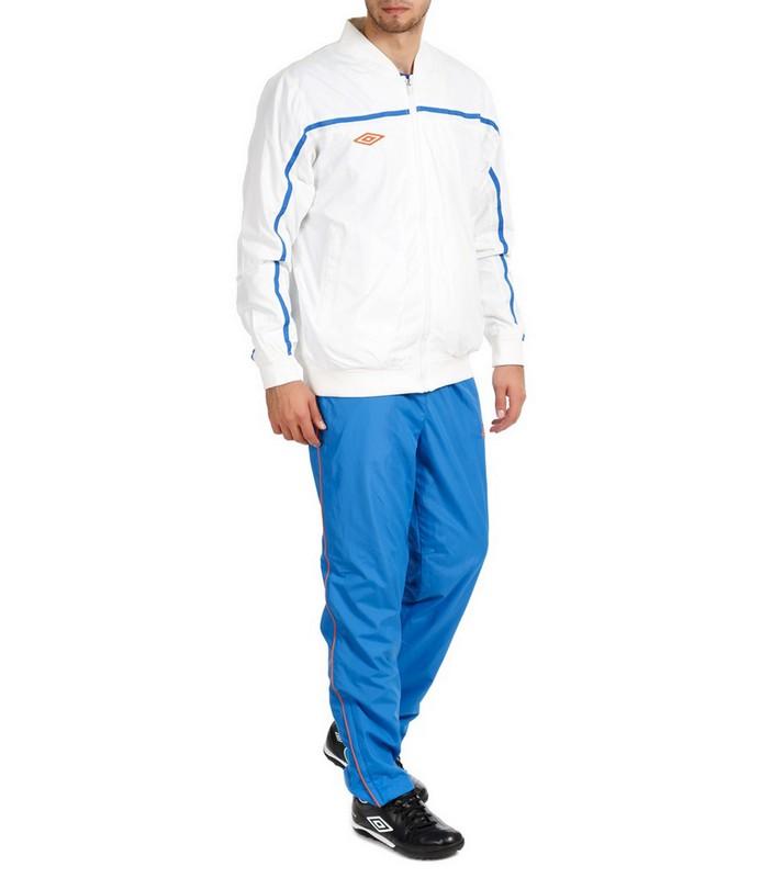 Костюм спортивный Umbro Stadium lined Suit мужской 460213 (17G) бел/син/оран.