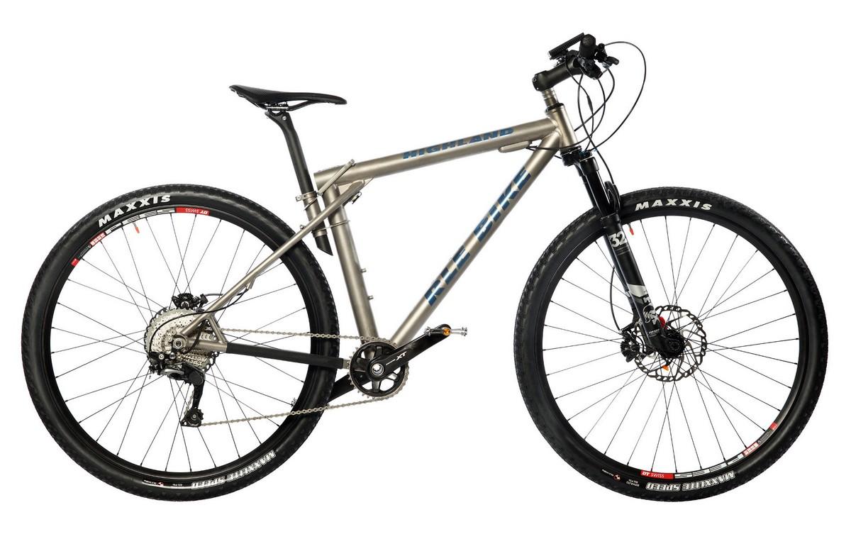 Электровелосипед RLE bike Highland SLX (тип MTB Hardtail) 27,5 2018