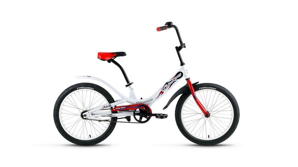 Купить Велосипед 20 Forward Scorpions 1.0 19-20 г, (велосипеды)