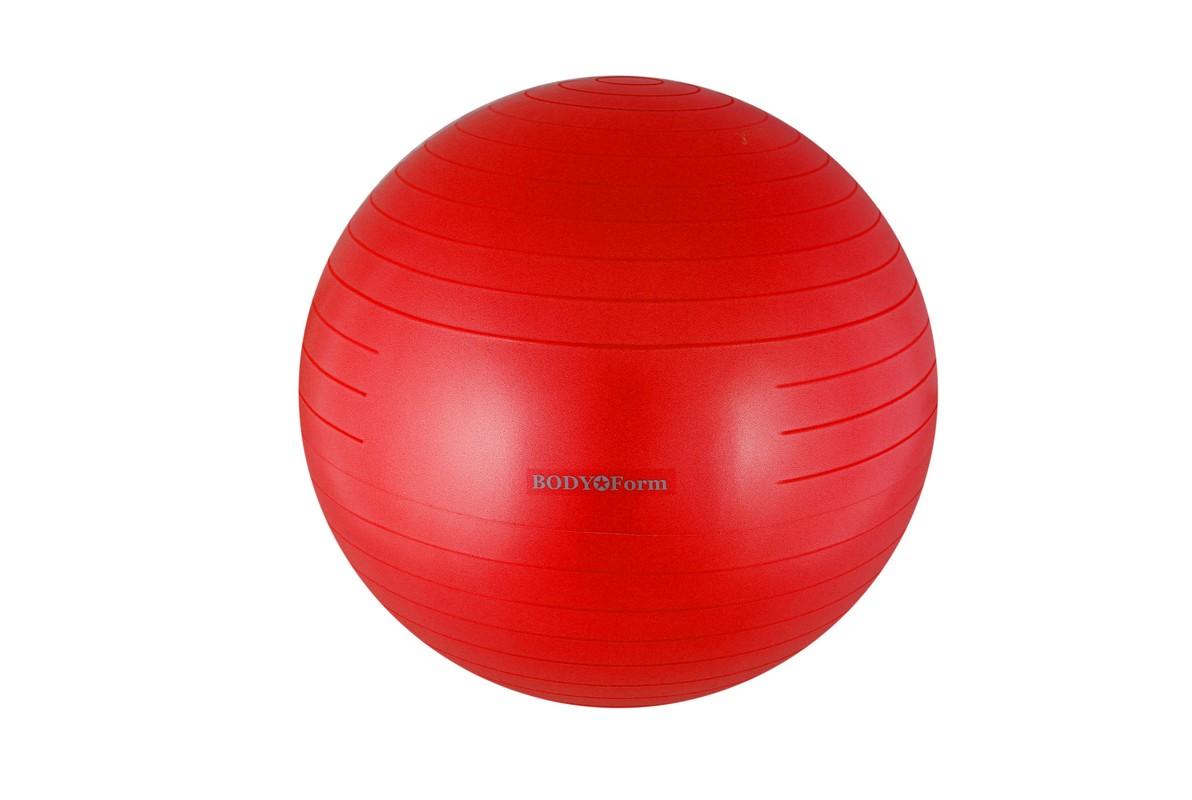 Купить Гимнастический мяч Body Form BF-GB01AB антивзрыв D75 см. красный,