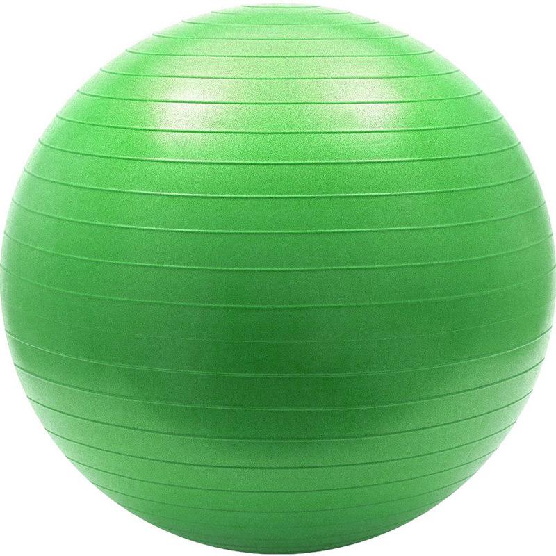Купить Мяч гимнастический Anti-Burst 55 см FBA-55-3, зеленый, NoBrand