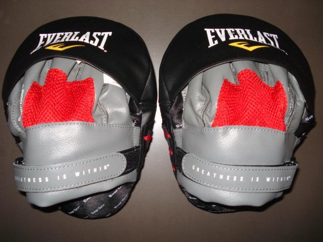 где купить  Лапы изогнутые mantis punch mitts красн/черн. Everlast 410000  по лучшей цене