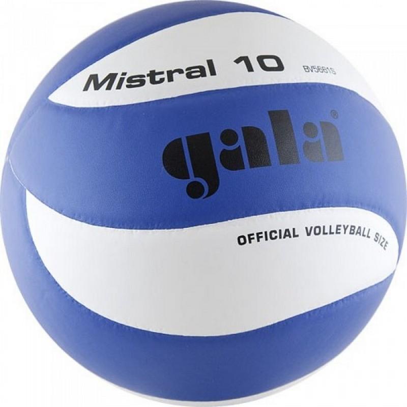 Мяч волейбольный Gala Mistral 10 р.5 BV5661S мяч волейбольный gala bora 10