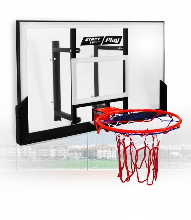 Баскетбольный щит Start Line Play 110 (112х72 см, кольцо 45 см) S110