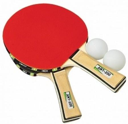 Купить Набор для настольного тенниса Novus atr-200 2 ракетки+2 мяча,
