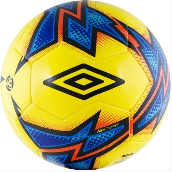 Мяч футбольный любительский р.5 Umbro NeoTrainer 20877U-FCY