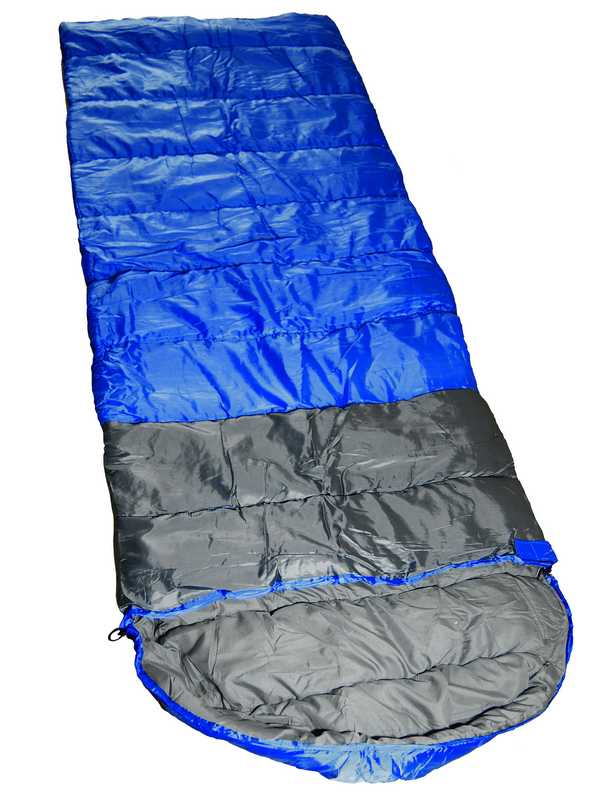 Спальный мешок X-Line Breeze (1х350G/m2 Холлофайбер, 0 ~ 15*C) SS004