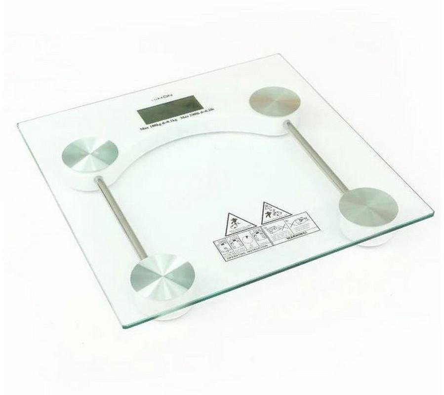Весы напольные Luazon LVE-003 электронные (до 180 кг) 2580574 стеклянные