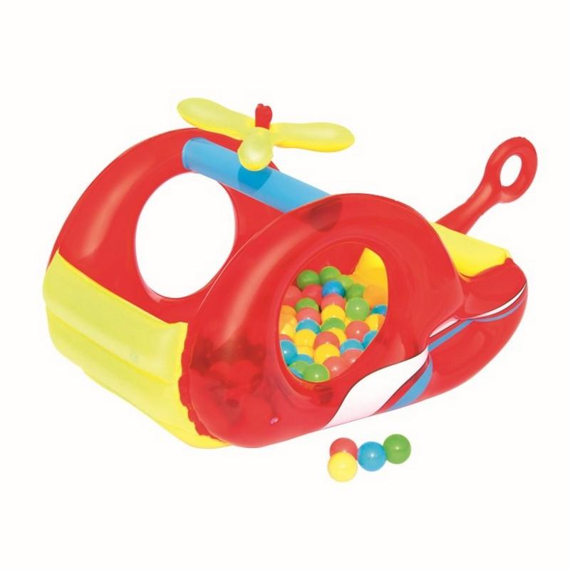 Игровой центр Вертолет с шариками 132х79х68см Bestway 52183