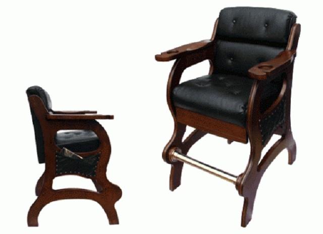 Кресло бильярдное (корица) Weekend 40.700.00.6 комплект луз с выкатом для стола classic ii weekend billiard company du 0013 02