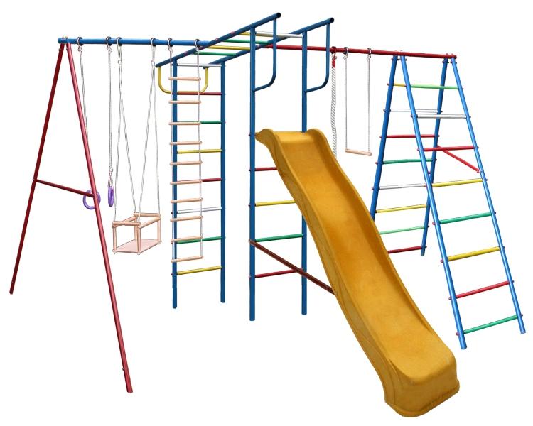 Детская игровая площадка Вертикаль А+П Макси с горкой