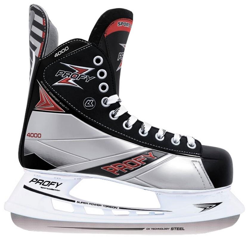 Хоккейные коньки СК Profy Z 4000 коньки onlitop 223f 37 40 blue 806164