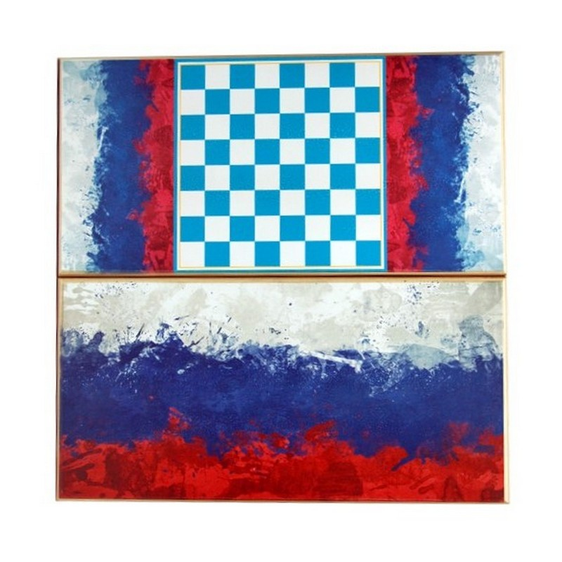 Нарды + Шашки Тульские Флаг России большие u103728