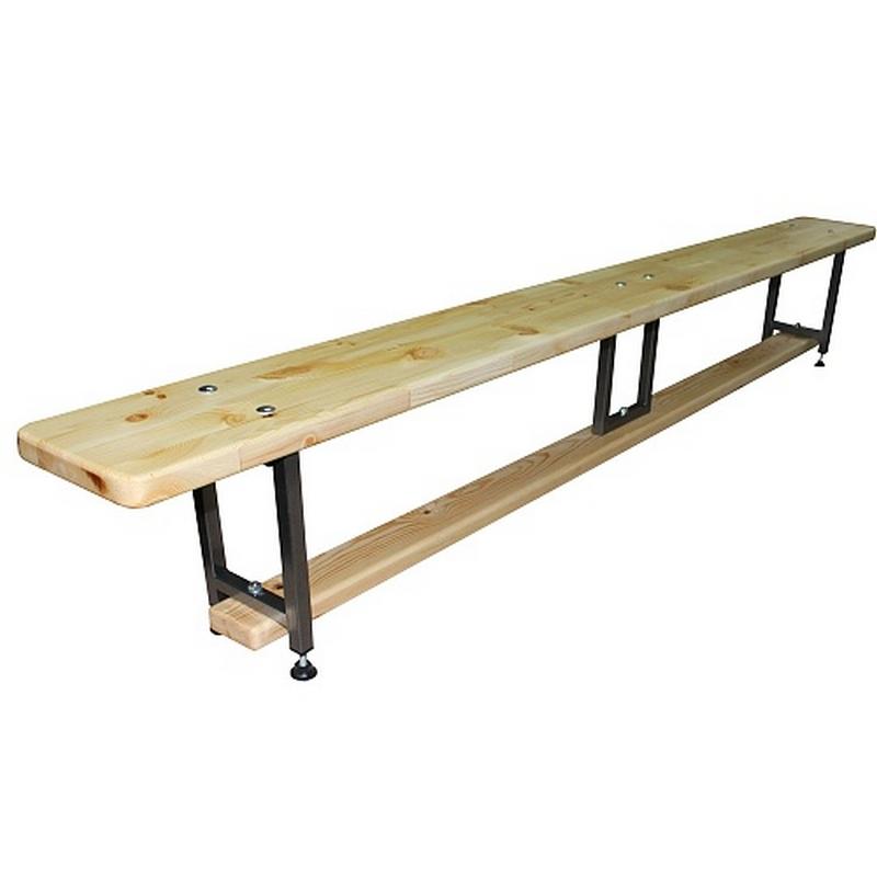 Скамейка гимнастическая Plastep 2,5м (эконом)
