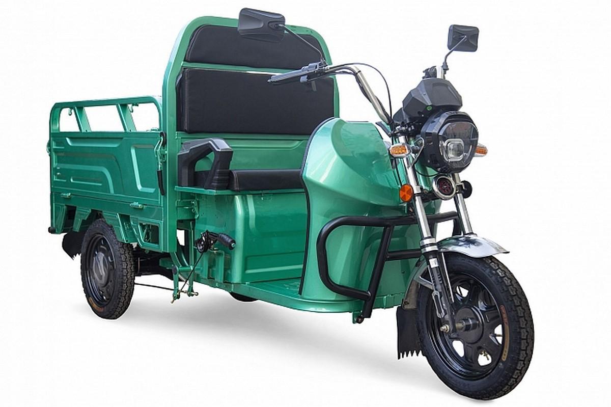 Электрический трицикл RuTrike Вояж К1 1200 60V800W 022475-2244 зеленый