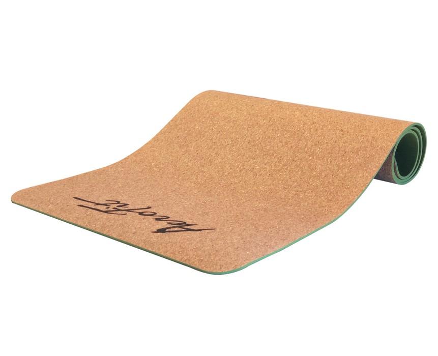 Купить Коврик для йоги Aerofit пробка + TPE AFCYM 183х61х0,6,