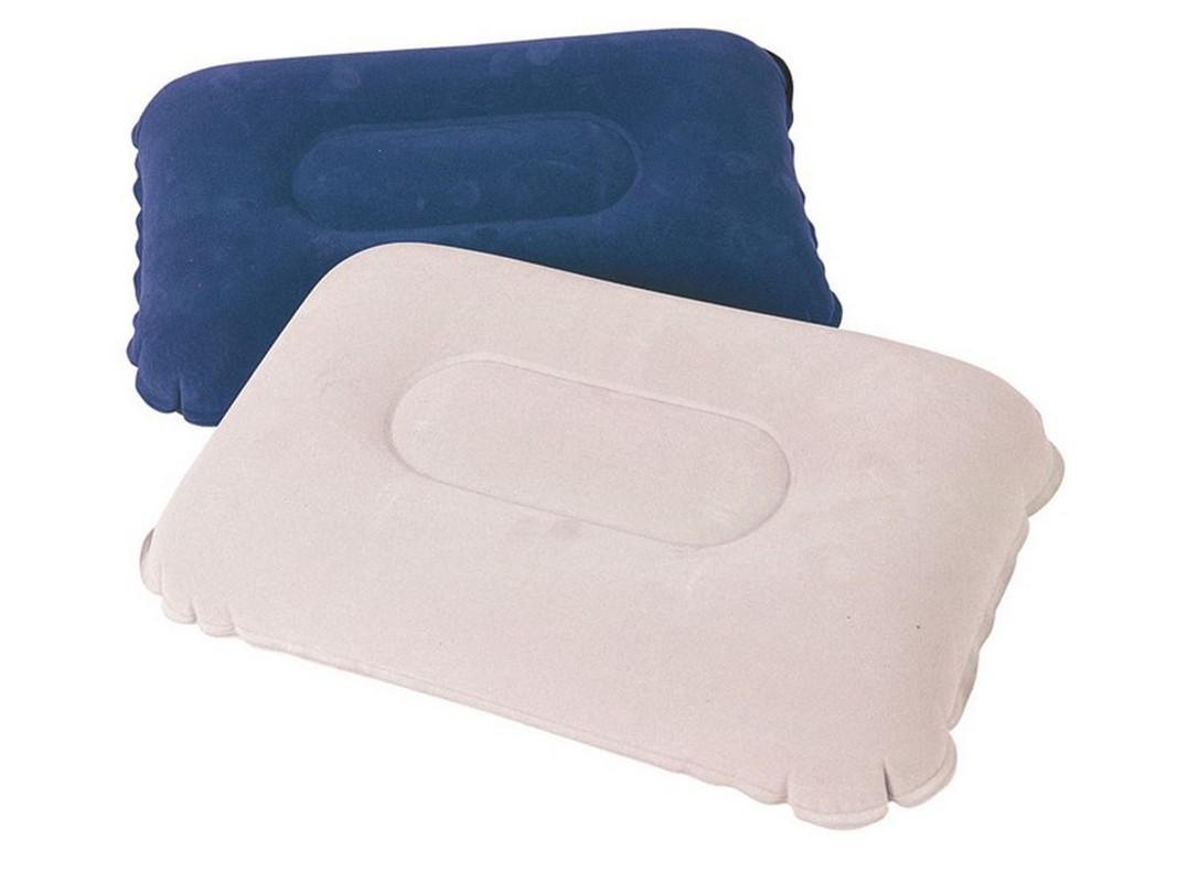 Надувная подушка Bestway Flocked Air Pillow 42х26х10см 67121