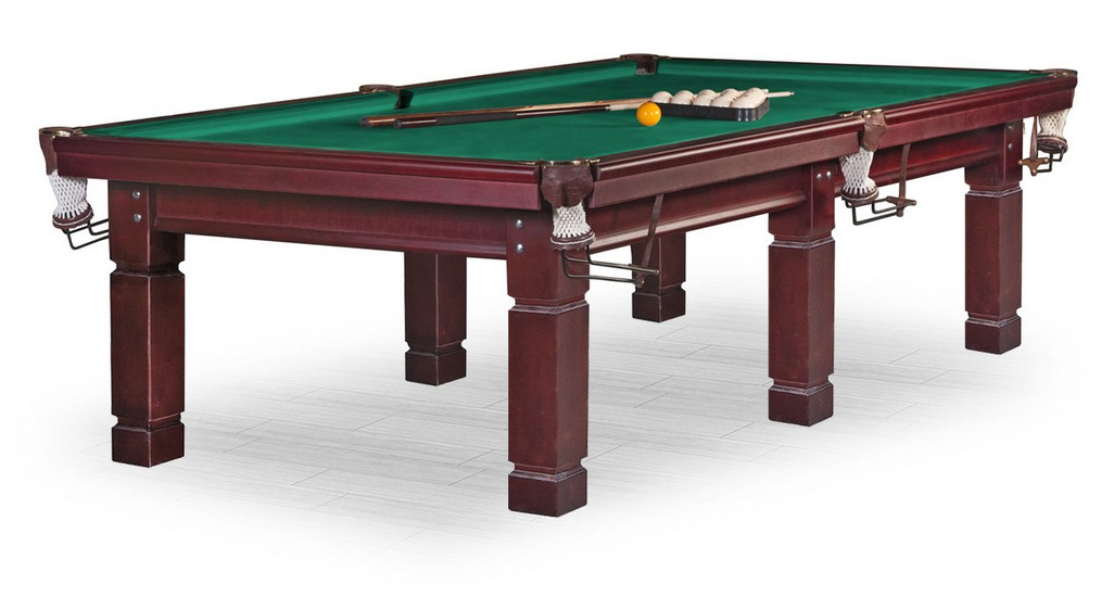 Стол / пирамида Weekend Billiard Company Texas 10 ф (махагон) FR10S стол пирамида weekend billiard turin 9 ф черный орех 6 ног плита 38мм 55 984 09 5