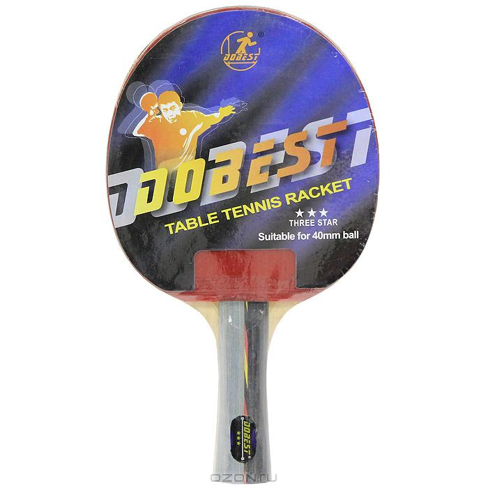 Купить Ракетка для настольного тенниса Dobest BR01 3 звезда,