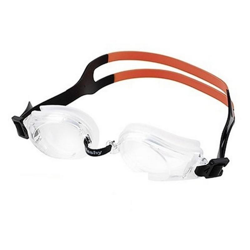 Купить Очки для плавания Fashy Pioneer 4130-18 прозрачные линзы, прозрачная оправа,