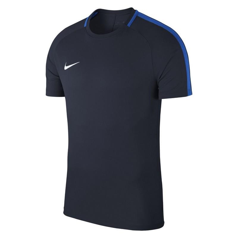 Футболка мужская Nike Dry Acdmy18 Top Ss 893693-451 тренировочная, т.синяя