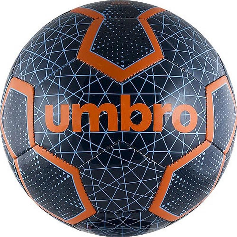Мяч футбольный Umbro Veloce III Ball, р.4 (CI4) чер/син/оранж. мяч футбольный любительский р 5 umbro veloce supporter 20808u stt
