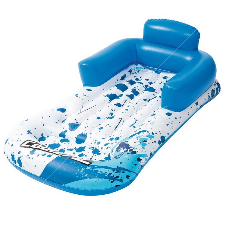 Купить Надувной шезлонг Bestway для отдыха на воде, 161х84см 43155,