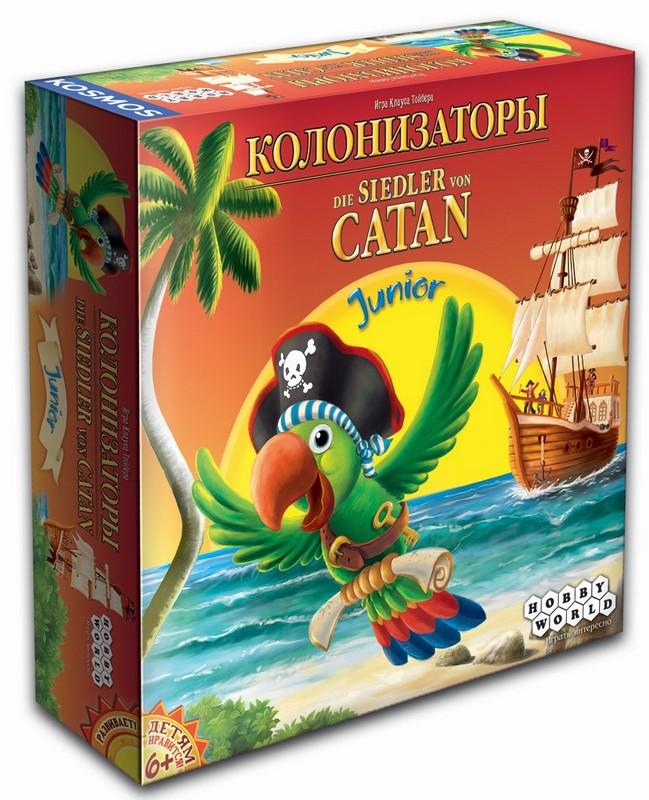 Настольная игра Колонизаторы. Junior 2014 hw1217
