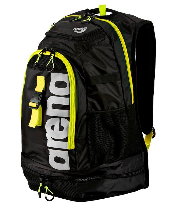 Рюкзак Arena Fastpack 2.1 black/fluo yellow/silver (1E388 50) черн/желт.