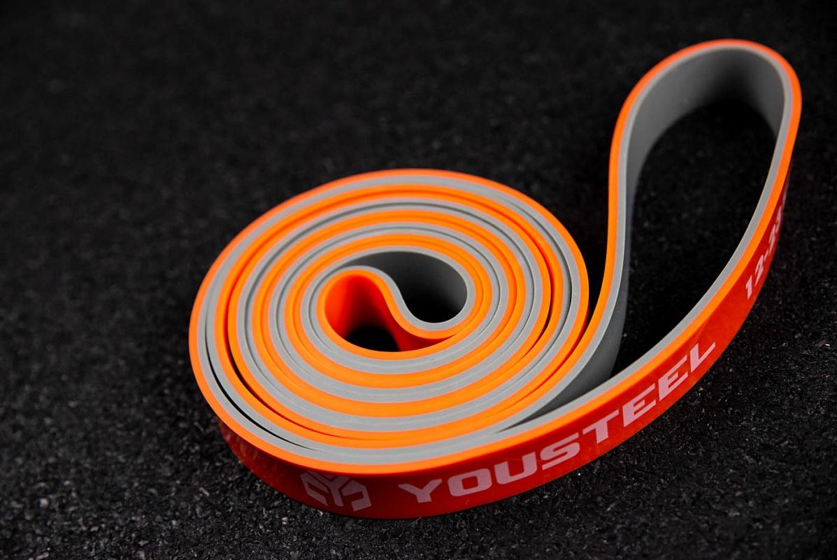 Купить Петля двухцветная YouSteel 22мм, серый+оранжевый,