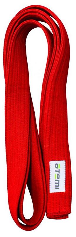 Купить Пояс для кимоно Atemi 280 см красный,
