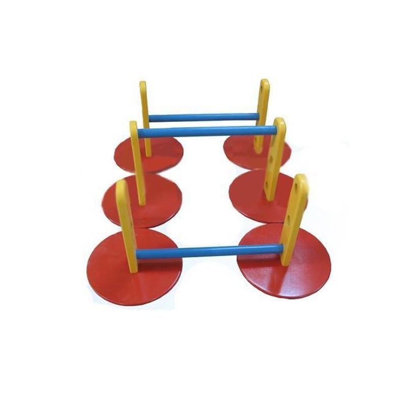Купить Стойка для прыжков Дорожка, 3 элемента Dinamika ZSO-002130,