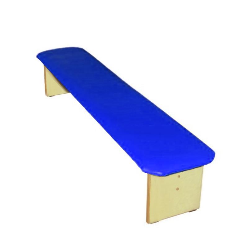 Купить Скамейка для детского сада полумягкая 1500 мм Dinamika ZSO-002339,