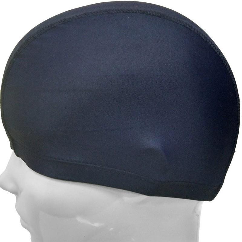 Купить Шапочка для плавания лайкра C33692-7 темно-синяя, NoBrand