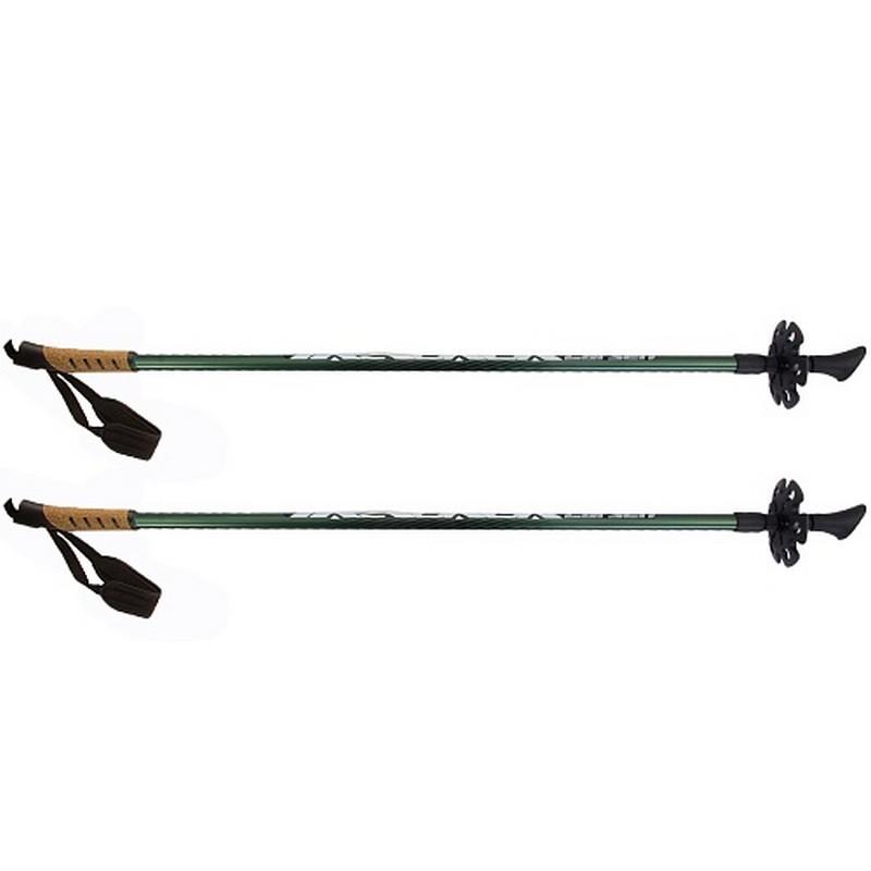 Купить Палки для скандинавской ходьбы l90-135см Larsen Tracker 2-секционные,