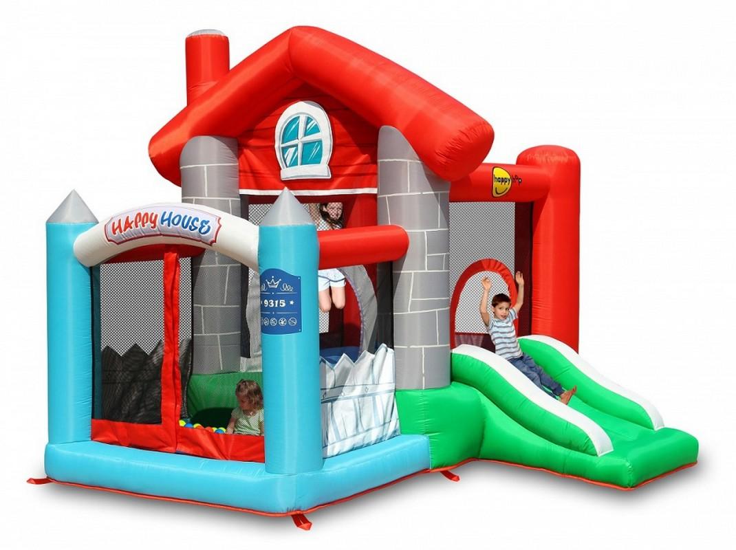 Детский надувной Батут Happy Hop Замок 9315