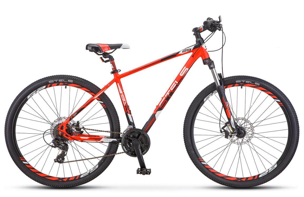 Купить Велосипед Stels Navigator 930 MD V010 Неоновый-красный/Черный 29Ø 2019 (LU091698),