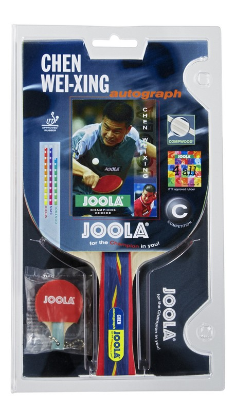 Ракетка для настольного тенниса Joola Chen Autograph 54151 ракетка для настольного тенниса joola competition gold 59560
