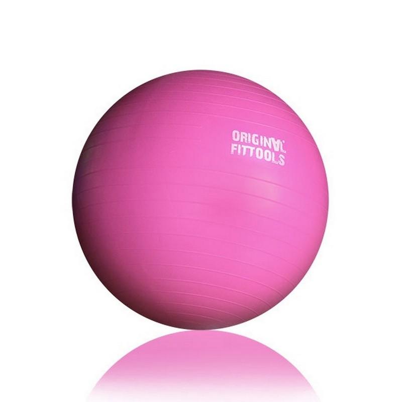 Купить со скидкой Гимнастический мяч Original Fit.Tools 55 см FT-GBR-55