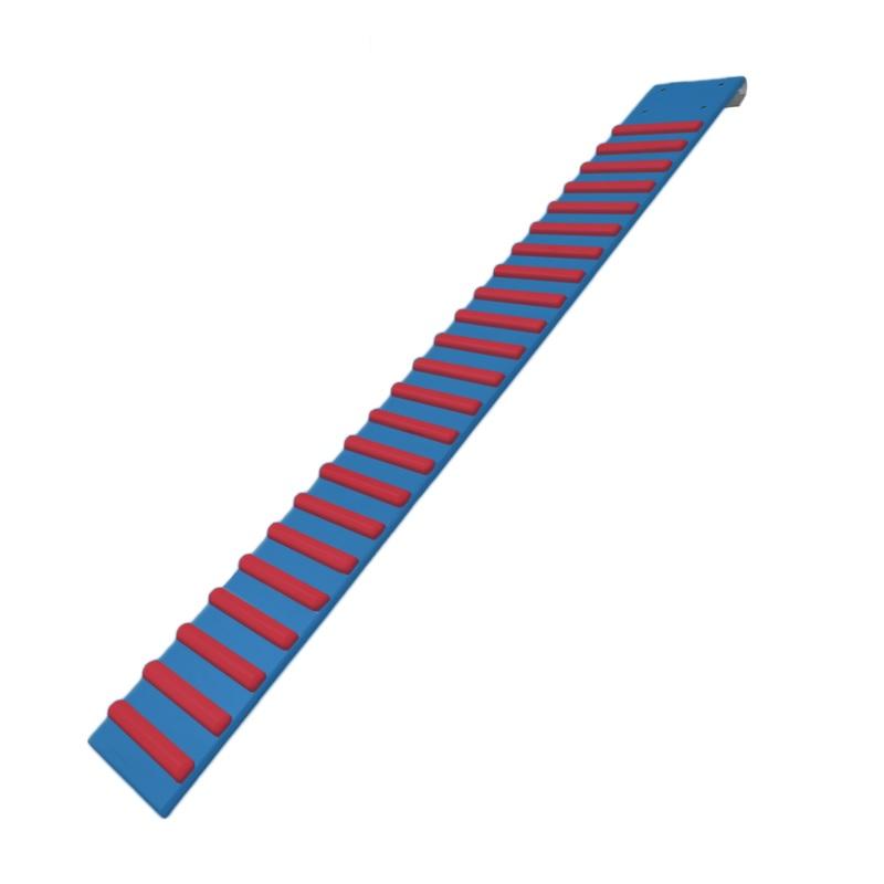 Купить Доска ребристая Dinamika с зацепами навесная 1600 мм (цветная) ZSO-002457,