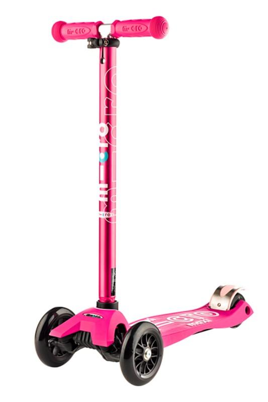 Самокат Micro Maxi Deluxe Shocking Pink MMD035 скейтборд и самокаты