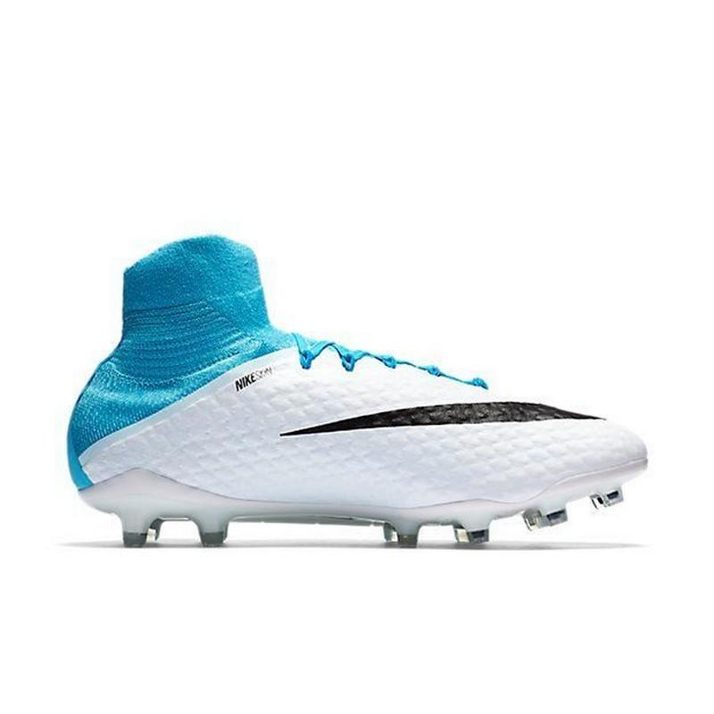 Бутсы футбольные Nike Hypervenom Phatal III FG 878640-104, бел/гол.