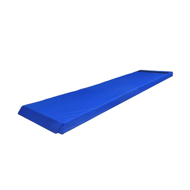 Купить Мат гимнастический 200х50х10 оксфорд-велькро (ппу) Dinamika ZSO-001305,