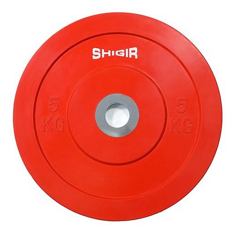 Купить Диск бамперный цветной для кроссфита 5 кг Iron King CR,