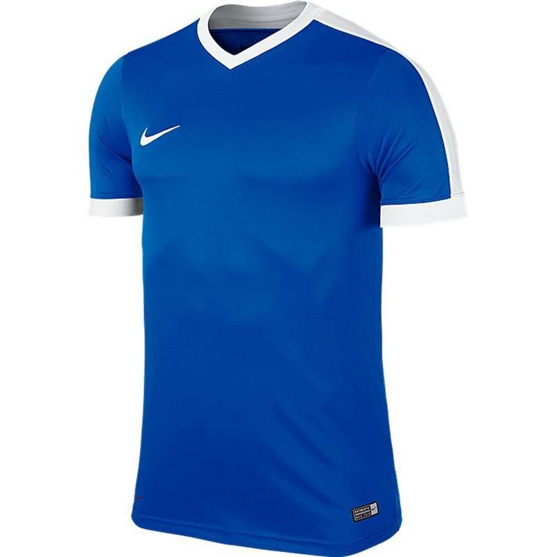 Футболка Nike Striker IV 725974-463 детская, синяя футболки nike футболка nike ss striker iv jsy 725892 739