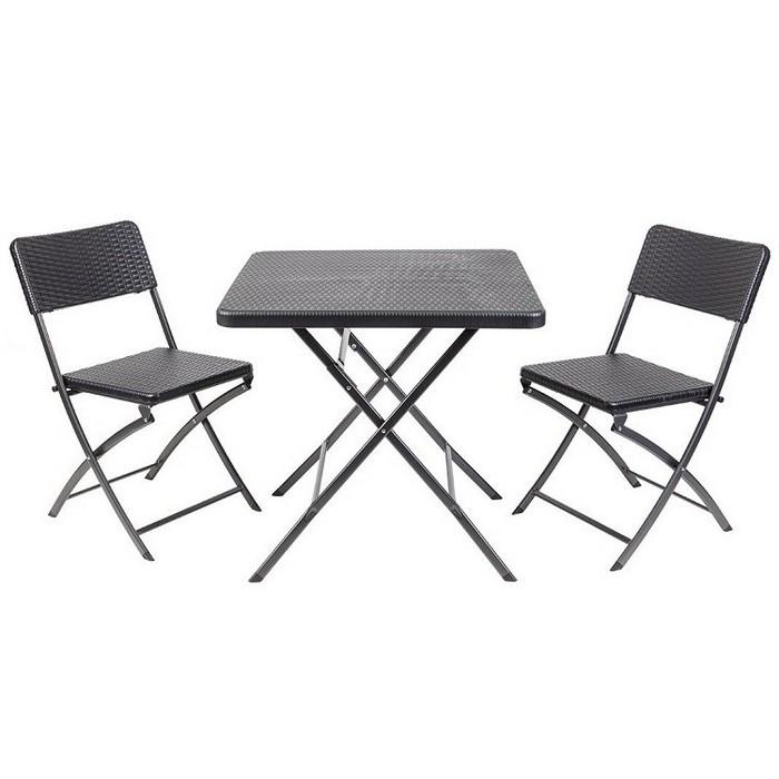 Набор мебели складной GoGarden Napoli 50366 черный